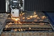 Лазерный раскрой листового металла.