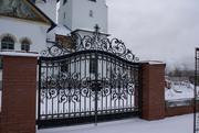 Ворота кованые,  ворота из профлиста,  ворота распашные,  ворота.