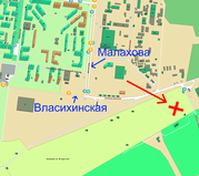 Продам земельный участок в черте города (сад-во Мичурина)