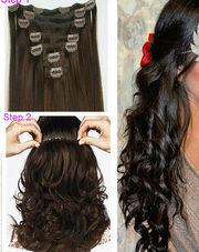 Накладные волосы на заколках цены
