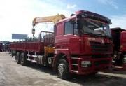 Бортовой грузовик Shaanxi 6x4 с краном-манипулятором 8 т