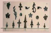 Детали кованые,  элименты для ковки, штампованые листья, литые детали.