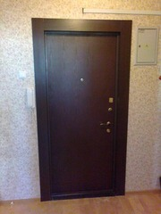 Отделка оконных и дверных проемов