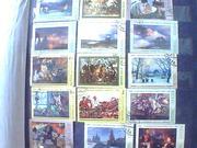 Коллекция марок,  начиная с 1974г.,  разной тематики