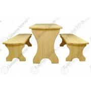 Комплект банный (столик,  2 лавки)