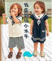 Childeku Новых детских летних мужчин короткие юбки рукав костюм и женс
