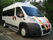 Заказ автобуса, микроавтобуса на свадьбу