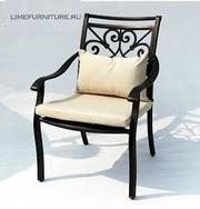 Оригинальный кованый стул