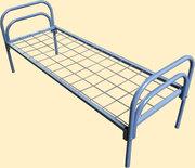 Кровати металлические для турбазы,  кровати армейские,  кровати железные
