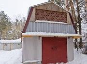 кирпичный гараж,  в 2-х уровнях,  8х4 м.