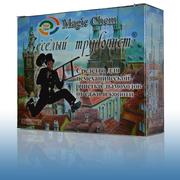 Веселый трубочист - средство  очистки дымохода трубы , камина