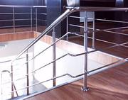 Стальные ограждения для лестниц