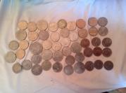 Юбилейные монеты  1, 3, 5 рублей 1965 -1991 г. выпуска.