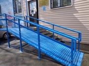 Пандусы для инвалидов с промежуточными площадками