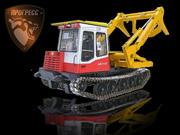 Купить лесопогрузчик ЛТ-188 на шасси МСН-10 (ТТ-4М). Лесозаготовительная техника.