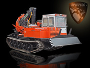 Купить бесчокерный трелевочный трактор ЛП-18К,  на шасси МСН-10 (ТТ-4М).
