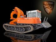 Купить бесчокерный трелевочный трактор ЛТ-187 на шасси МСН-10 (ТТ-4М).