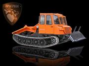 Купить трелевочный трактор МСН-10-003 с трехместной кабиной. Новая модель.
