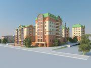 Квартиры студии в новом жилом комплексе Барнаула