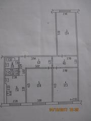 Продам трехкомнатную квартиру на Панфиловцев