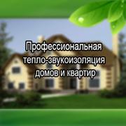 Тепло-звукоизоляция домов и квартир