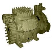 Установка компрессора ЗАФ49К52С