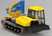 Трактор гусеничный МТБ-18