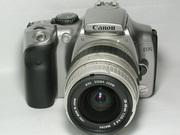 Недорого,  цифровая зеркальная фотокамера Canon KiSS Digital (300D)
