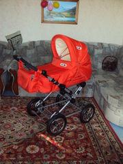 Детская коляска + Прыгунки